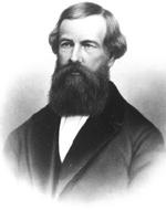 Elisha Graves Otis, 1811-1861. His elevator braking innovations are still in use today.