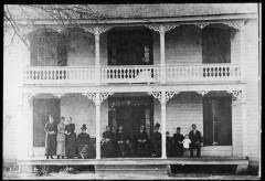 R.O. Medlock's house on Thrasher Street in 1888. Photo courtesy of Georgia Archives.