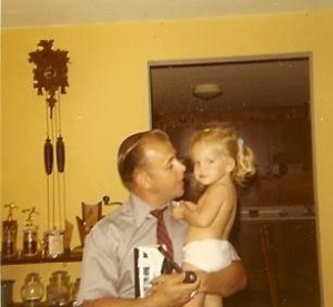 One of my favorite pictures of me and my Dad.