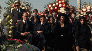 Don Corleone's funeral scene was filmed in Calvary Cemetery, Queens, New york.