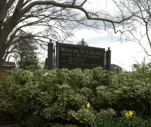 Oakland Cemetery is not just a cemetery for the dead. It welcomes the living to visit and enjoy the beauty of the place.