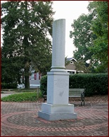 This is the monument in Roswell dedicated to the memory of the roswell mill workers who were shipped North at Sherman's orders.