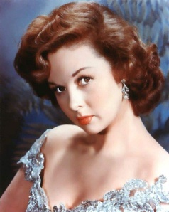 "Actress Susan Hayward got the nickname ""Red"" from the fiery color of her hair."
