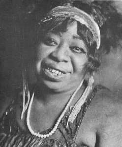 "Ma Rainey's life of poverty and hard work was reflected in songs like ""Bad Luck Blues"" and ""Trust No Man."" Photo courtesy of Wikimedia Commons."