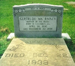 Ma Rainey's music... Photo courtesy of Ronald Self.
