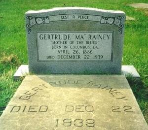 Ma Rainey's music... Photo courtesy of Ronald Self.