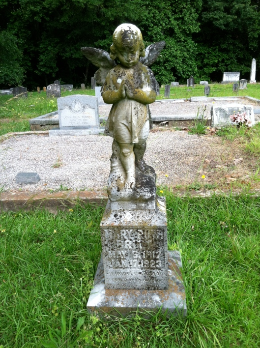The monument for little ? Britt is memorable.