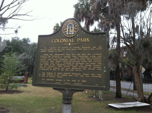Colonial Cemetery contains the graves of many famous Savannah residents, from a signer of the Declaration of Independence to one of the world's best miniature painters.