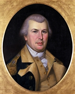 Portrait of Nathanael Greene by Charles Wilson Peale in 1783, just a few years before he died.