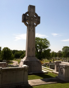 The Egleston family monument is one of the largest at Westview.