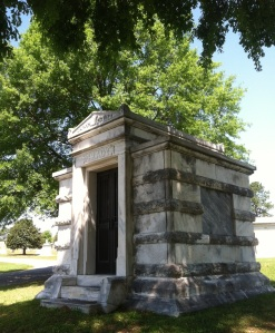Henry W. Grady was originally buried at Oakland Cemetery in a friend's crypt due to financial woes. He was later buried at Westview.