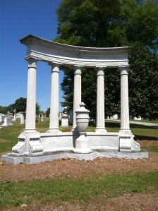 The Woodruff family's monument is visited by hundreds every year.