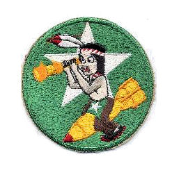 Emblem of the USAAF 64th Bomb Squadron. Courtesy of Wikimedia Commons.