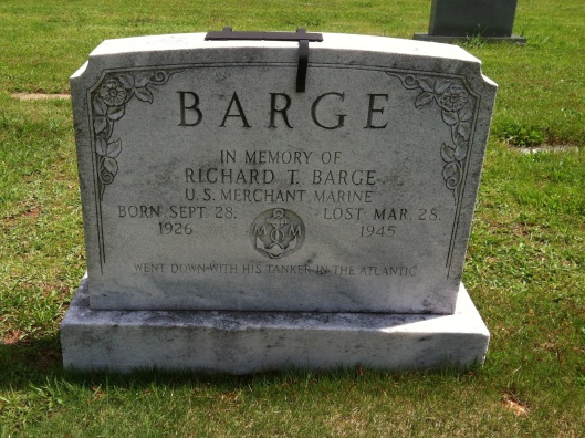 While Richard Barge was not in the military, his life was taken in service to his country. He was 19 years old when he died.