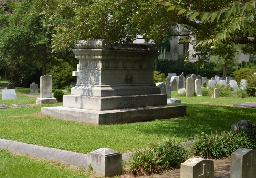 During the Civil War, only a few people knew where John C. Calhoun was actually buried. Photo courtesy of Chris Rylands.