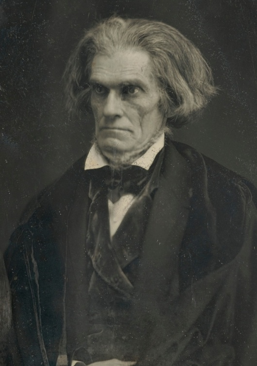 John C. Calhoun was the seventh U.S Vice President. He died in 1850 of tuberculosis.