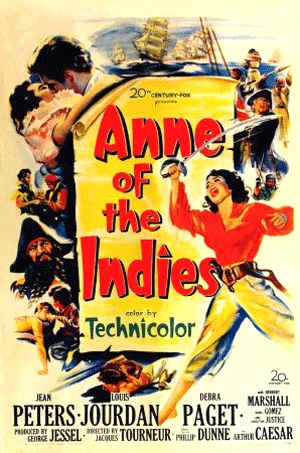 "Sass' story ""Queen Anne of the Indies"" was made into a film starring Ann Peters and Louis Jourdan in 1951."