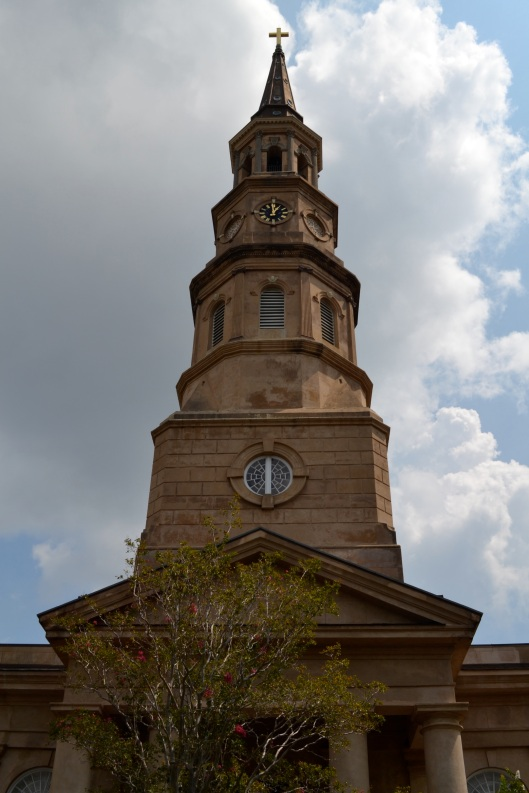 St. Philip's majestic steeple was designed by E.B. White.