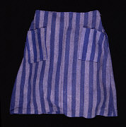 This is the skirt Hana Mueller wore as a concentration camp prisoner. It is on display at the U.S. Holocaust Museum in  Washington, D.C.