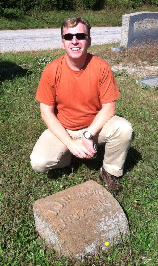 Steve discovered many of his relatives' final resting places at Lithonia City Cemetery.
