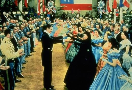 Scarlett O'Hara broke all the rules of proper mourning by dancing with Rhett Butler at a fancy dress ball. She was supposed to be at home crying for her dead husband.