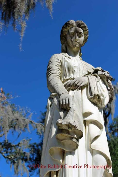 Jennifer took this photo at Bonaventure Cemetery in Savannah, Ga.