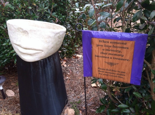 Visitors to Arlington's Menorah Garden are encouraged to take a stone to place on the grave they are visiting.