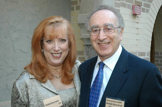 Si and his wife, Bobbi, who is an award-winning author.