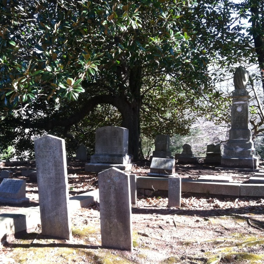 Decatur Cemetery's Old Section is well worth a visit on a sunny day.