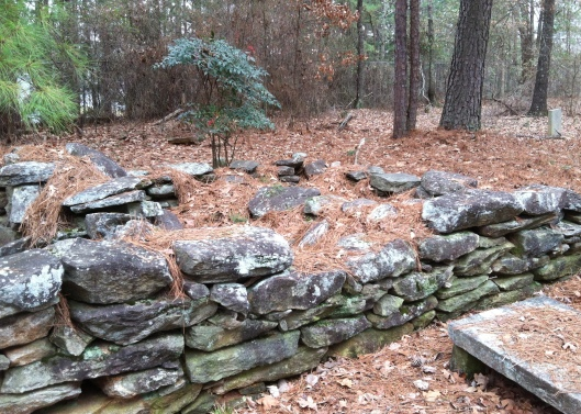 I am guessing because of the proximity of these two cairn graves that it was a married couple. Their names are unknown.