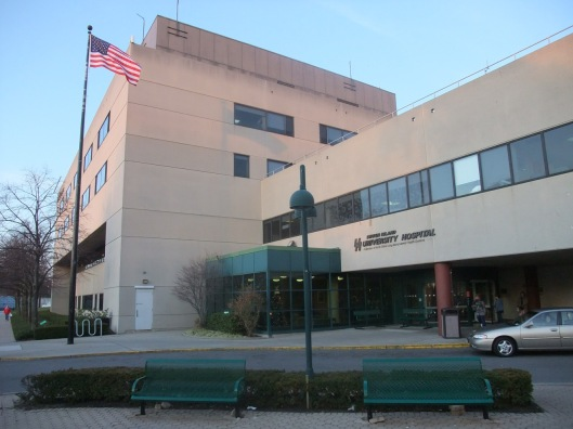 Joshua Stulick worked in the cafeteria at Staten Island University Hospital.