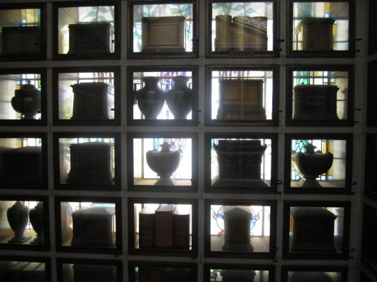 The Morrocoan-style columbarium at the Chapel of the Chimes in Oakland, Calif. is a unique place. They even have a Summer Solstice jazz concert there every year.