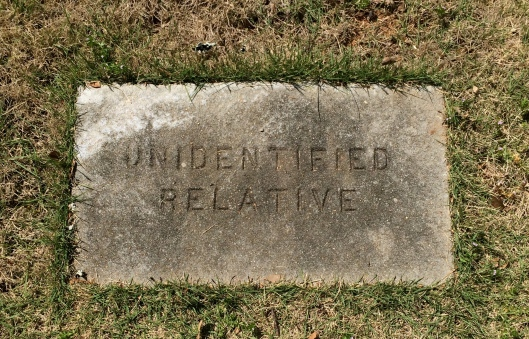 As is the case in many old family cemeteries, there are people buried within whose identities are lost to time.