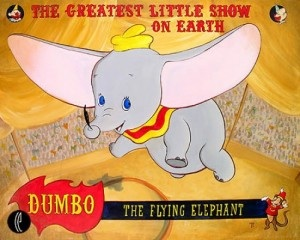 Coincidentally, Walt Disney's Dumbo was released in 1941.