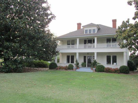 Built in 1913, the Tisinger House is now a venue for weddings.