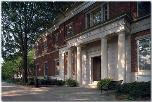 I walked past this building of the law school at UGA almost every day when I was a student. I like knowing I shared the same pathway as Harvey, someone I would have liked to have called a friend. Photo courtesy of Tisinger Vance, C.P.