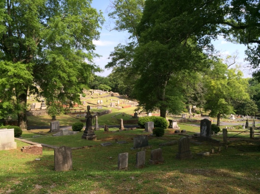 Myrtle Hill Cemetery is the second oldest cemetery in Rome, Ga. The cemetery covers 32 acres and about 20,000 people are buried there.