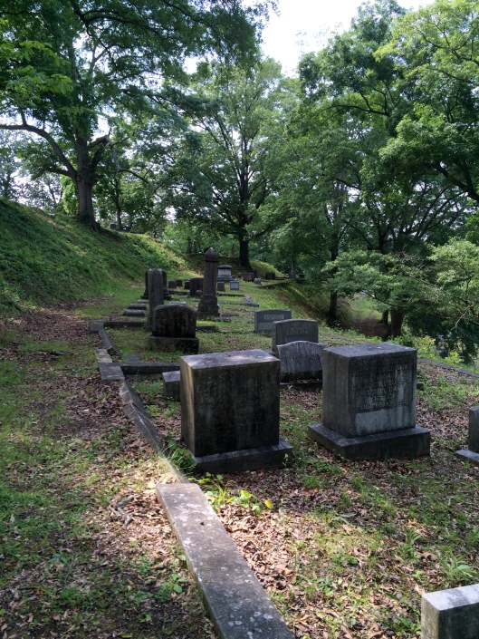 These terraced grave sites make for a peaceful setting but require some definite physical fitness if you are climbing up the many steps on the hillside.