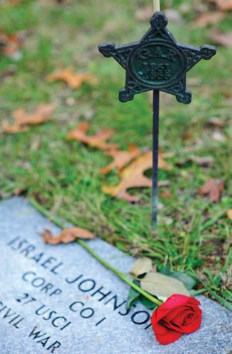 Over 80 veterans from various wars are buried at the Ridges. About half now have markers with their names and dates on them. Photo courtesy of The Post.
