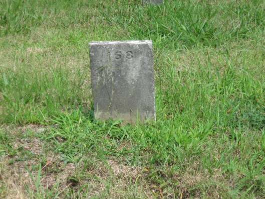 Grave #153 contains the remains of Levi Martin Mercer, a relative of mine who died in 1888 at the Athens Lunatic Asylum in Ohio.
