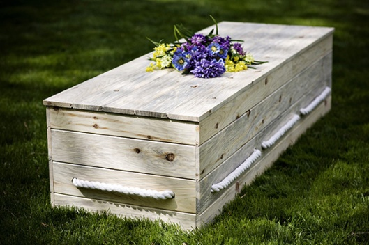 pineboxwithflowers