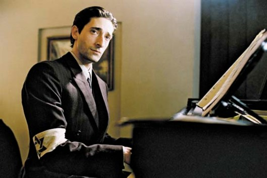 Adrian Brody portrayed Polish composer amd musician Władysław Szpilman, who barely survived the Holocaust.