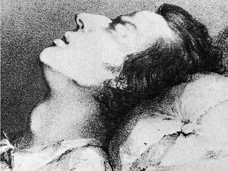 Polish composer Federick Chopin's Funeral March has been parodied a lot but it remains a powerful piece of music. This is a drawing of Chopin on his deathbed. Courtesy of Kean Collection/Hulton Archive/Getty Images.