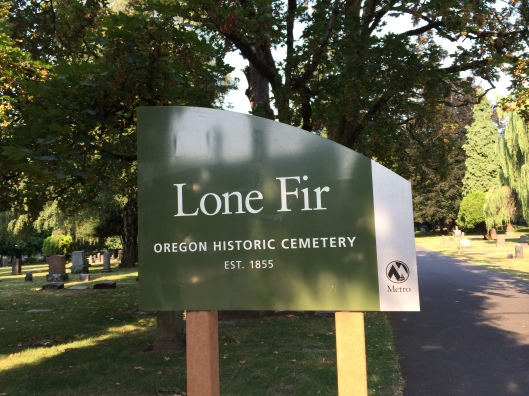 Lone Fir Pioneer Cemetery is one of 14 historic Portland cemeteries managed by Metro.
