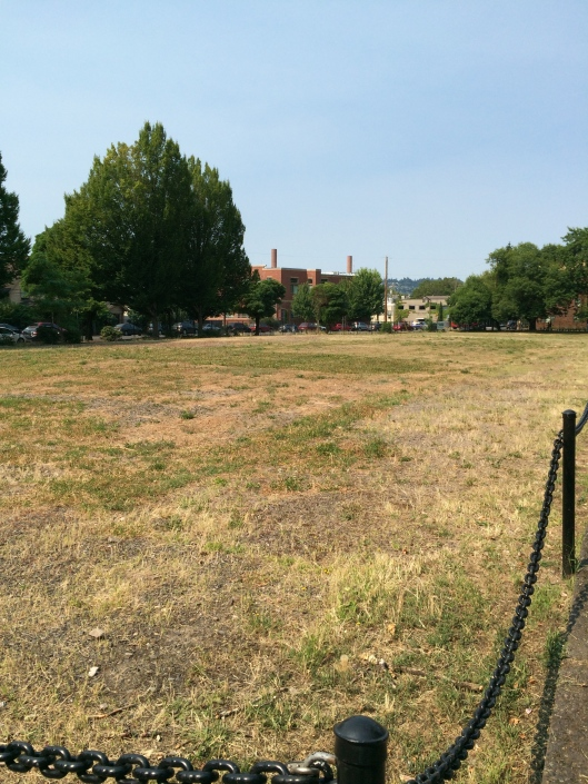 This empty lot once held the graves of Chinese immigrants and mental hospital patients. Plans are in the works for a memorial garden to be constructed to remember them.