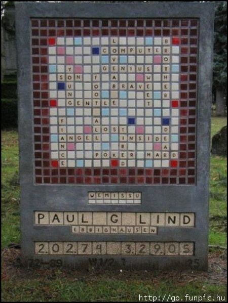 I had seen Paul Lind's amazing monument online a few years ago. This photo was taken by someone else and shows how vibrant it was.