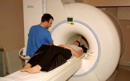 Doctors say that modern tools such as this MRI machine can help them detect disease.