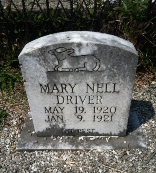 Mary Nell Driver's life was brief but she is surely not forgotten. She is buried at Flat Rock Baptist Church Cemetery on the border of Jackson-Hartsfield International Airport outside of Atlanta, Ga.