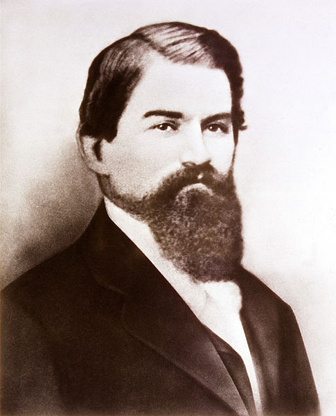 In 1886, John Pemberton invented what we now know as Coca-Cola after temperance laws forced him to make a non-alcoholic version of his French Wine Cola. It contained cocaine until 1903.