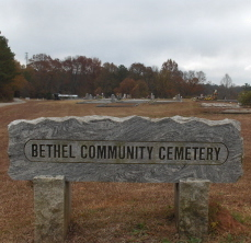 Bethel Community Cemetery seems perfectly normal. But I didn't like the feeling I got when I was there.
